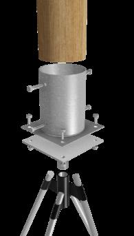 RootBase S-Range Round Leg