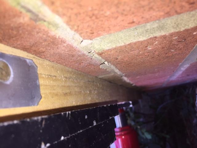 Sideways Jacking in Progress
