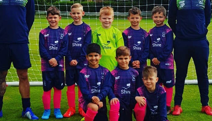 Shire is Proud to Sponsor Local Football Team