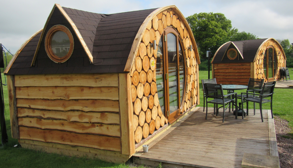 Shire Exhibit at The Glamping Show 2019